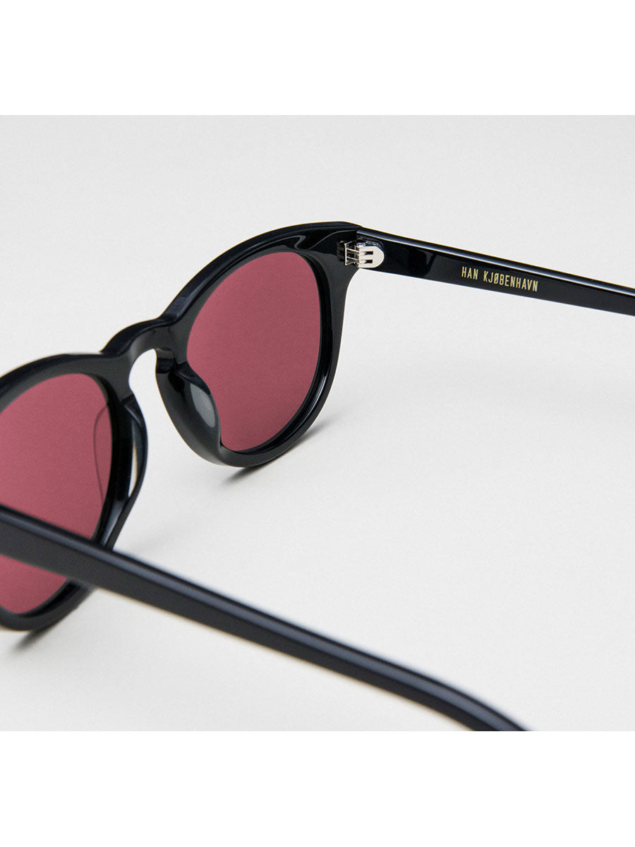 TIMELESS SUNGLASSES - BLACK RED