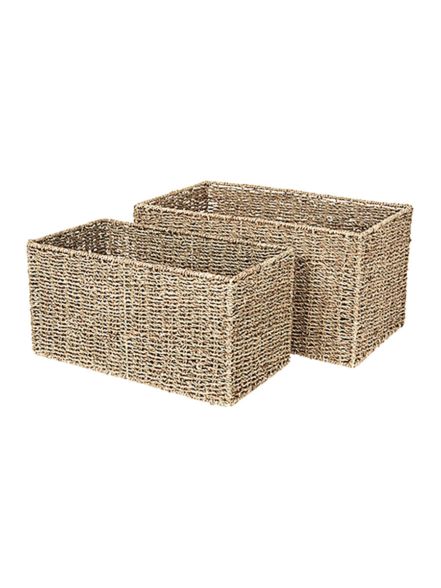 ASTRID SEAGRASS BASKET SET