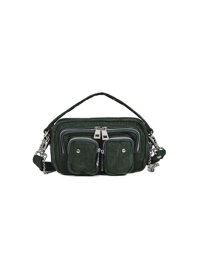 HELENA CORDUROY BAG - GREEN