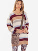 CALINDA STRIPE JUMPER