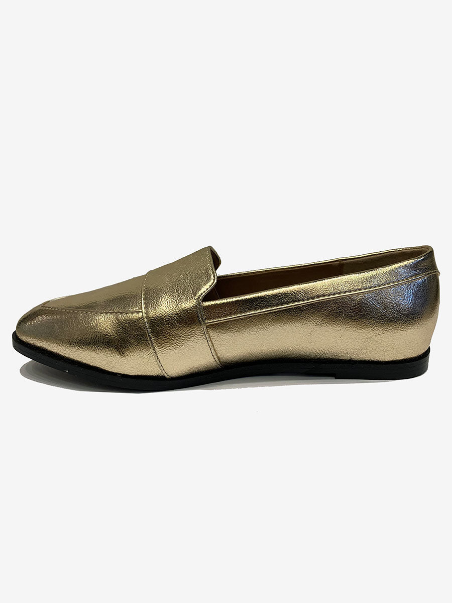 IZABEL LOAFER - GOLD