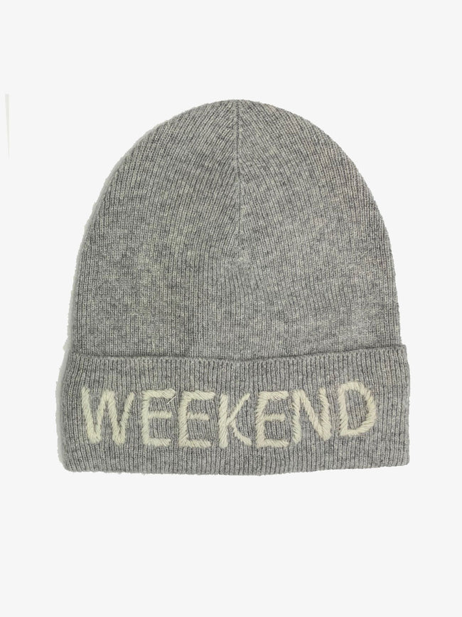 WEEKEND CASHMERE HAT GREY