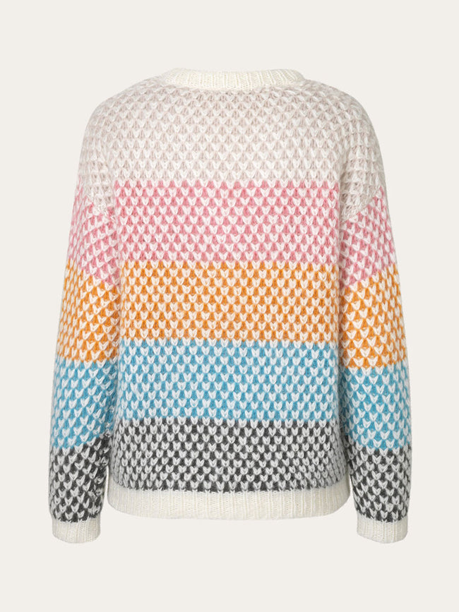 JODI MOSS KNIT JUMPER - MULTICOLOUR