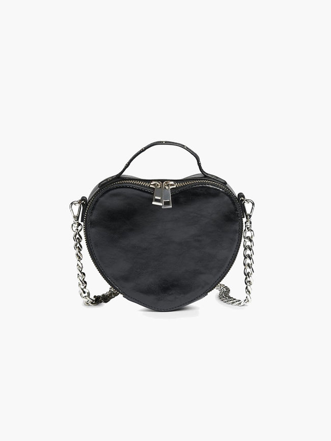KAWAII CRINKLE BAG - BLACK