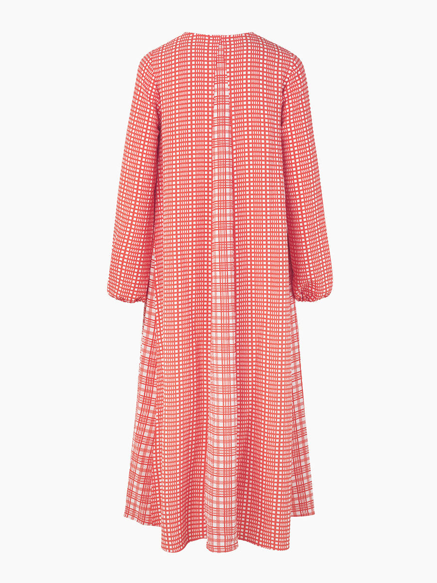 LEILA DRESS - PLAID