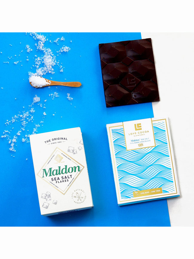 MALDON SEA SALT 70% DARK CHOCOLATE BAR