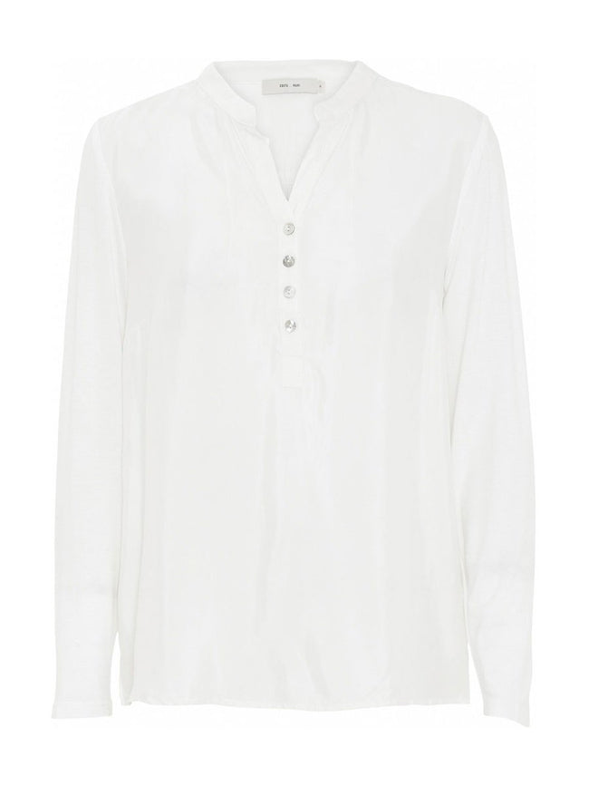 LOLITA LONG SLEEVE BLOUSE - OFF WHITE