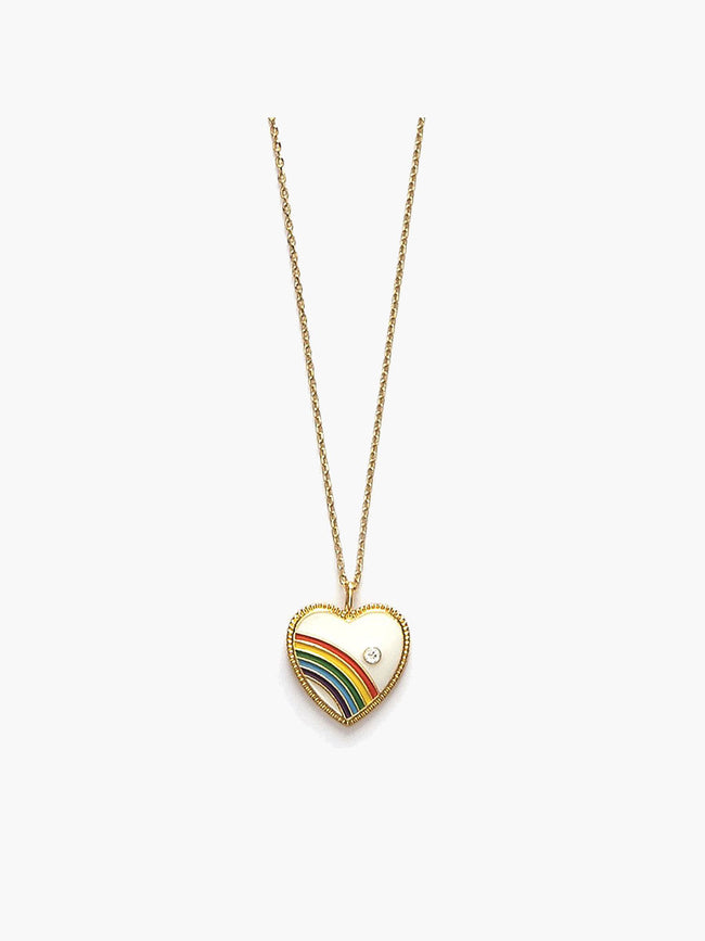 LOVE IS LOVE NECKLACE - GOLD