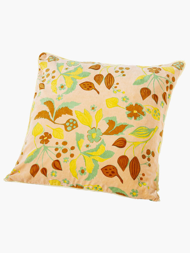 FOREST MAZE PILLOW - NUDE