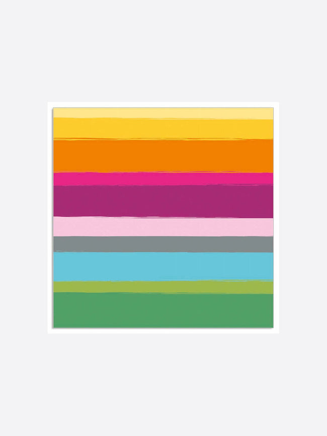 MULTI STRIPE NAPKINS - MULTICOLOUR