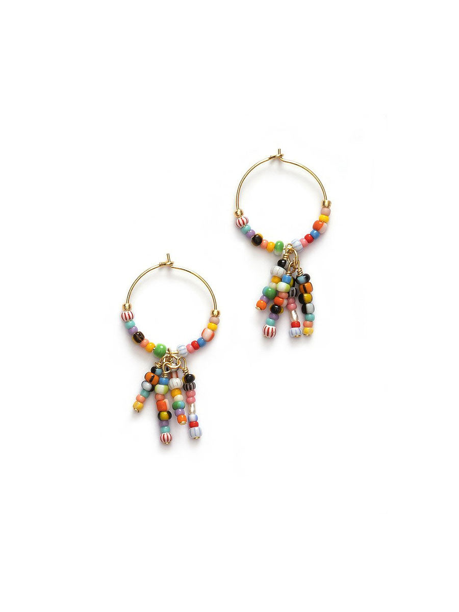 OCTOPUSSY ALAIA HOOP EARRINGS - GOLD