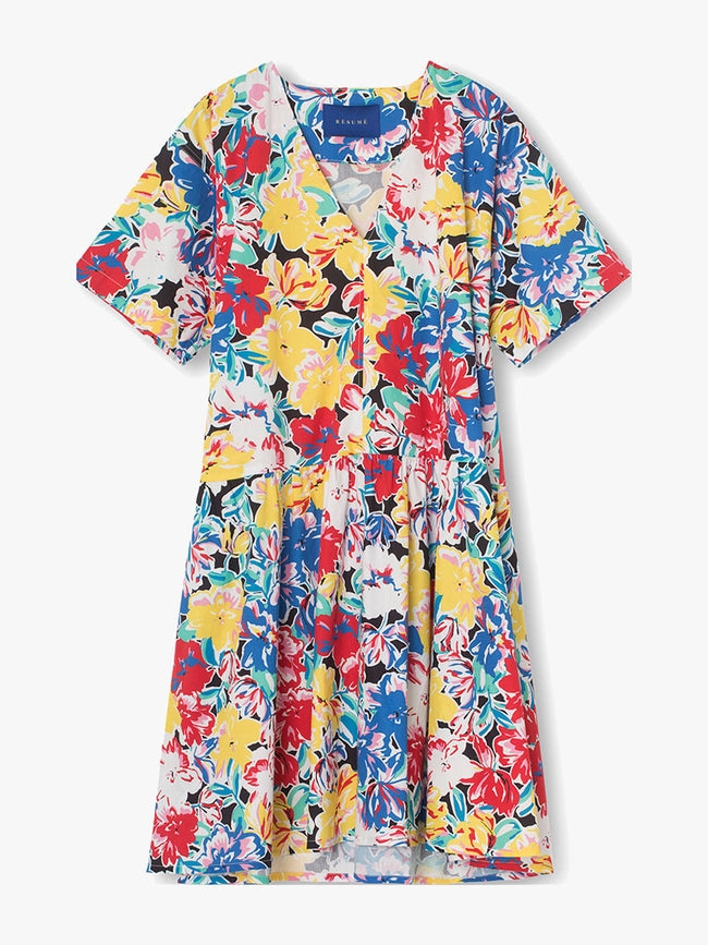 VERA FLORAL DRESS - MULTI