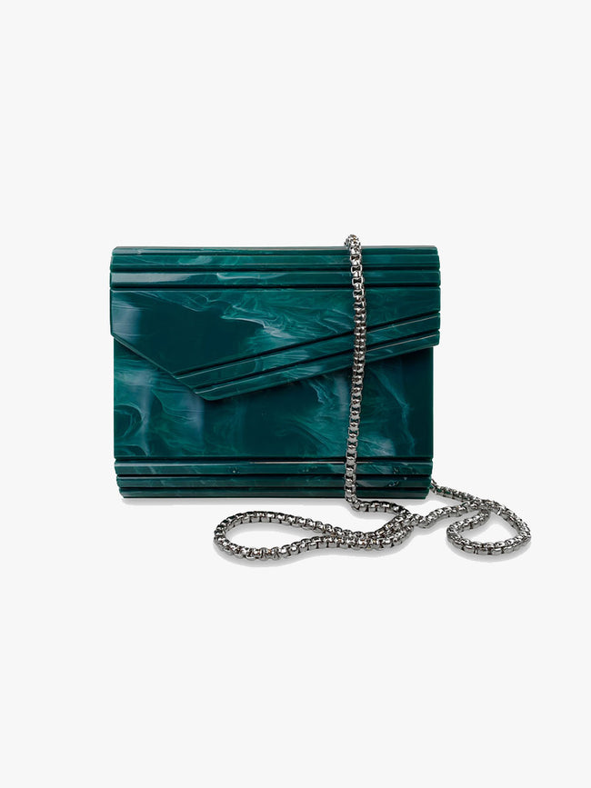 PARIS BAG - EMERALD GREEN