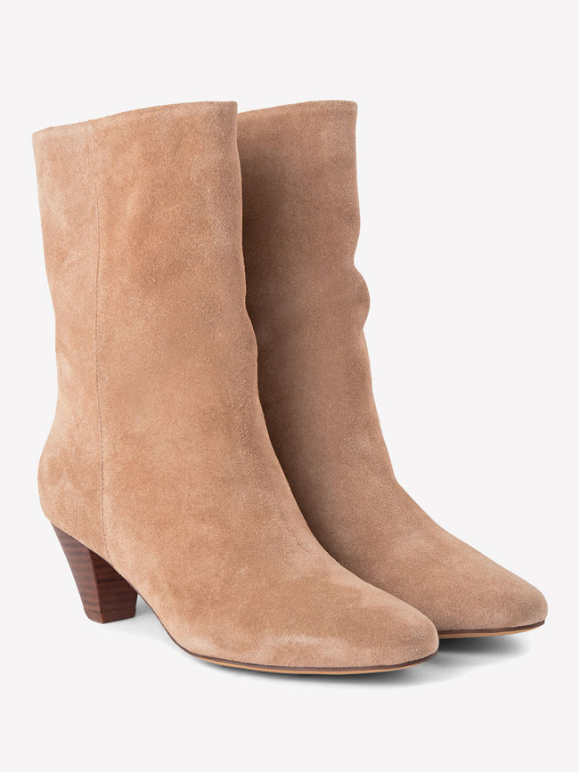 GITA SUEDE BOOTS - TAUPE