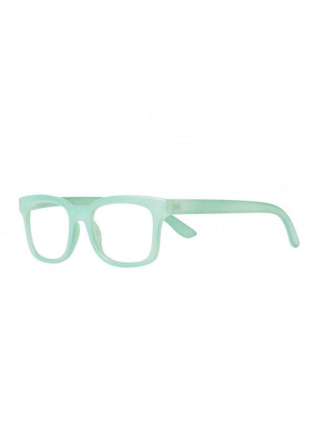 MARINA READING GLASSES - SOFT TURQUOISE MILK
