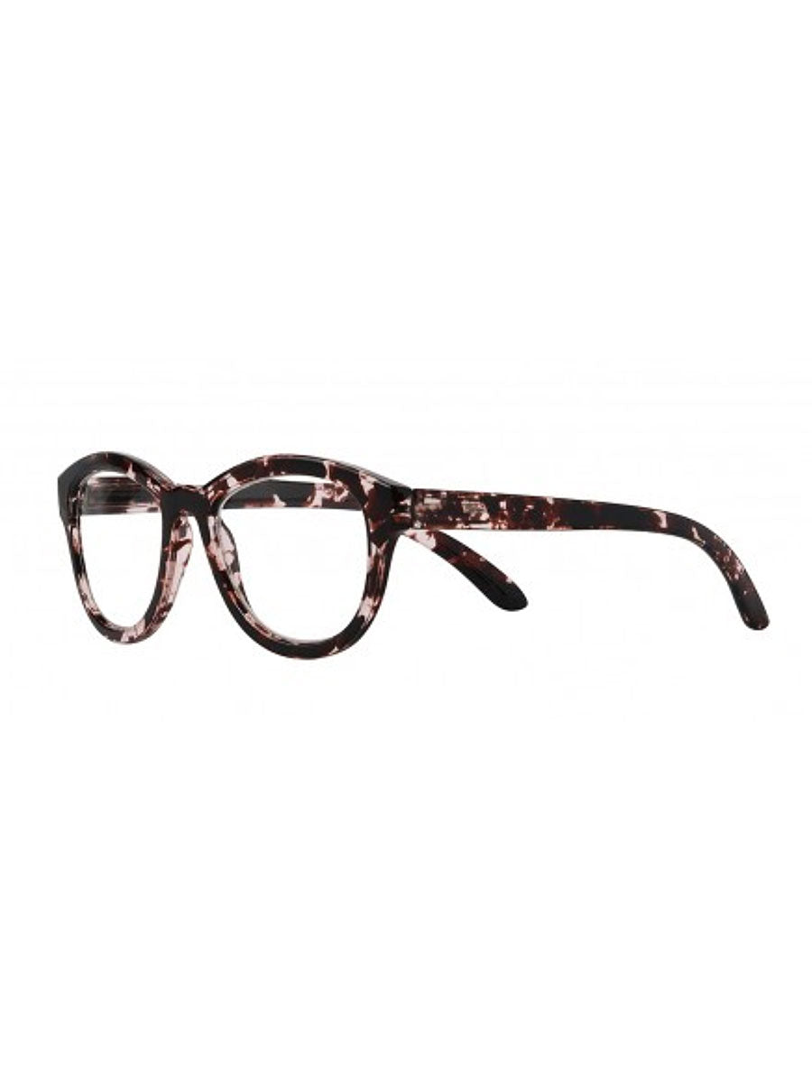 TRISNA READING GLASSES - PINK BORDEAUX