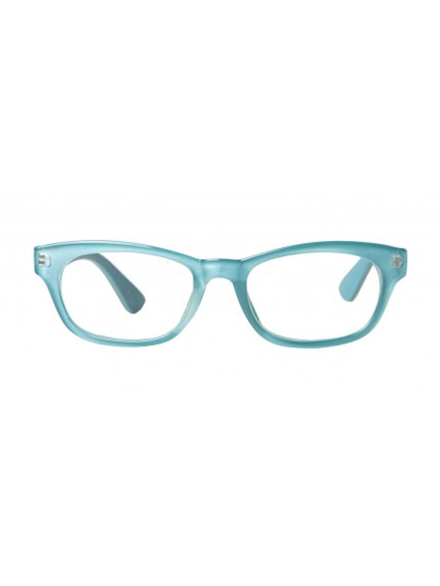SIGRID READING GLASSES - DUSTY LIGHT TURQUOISE