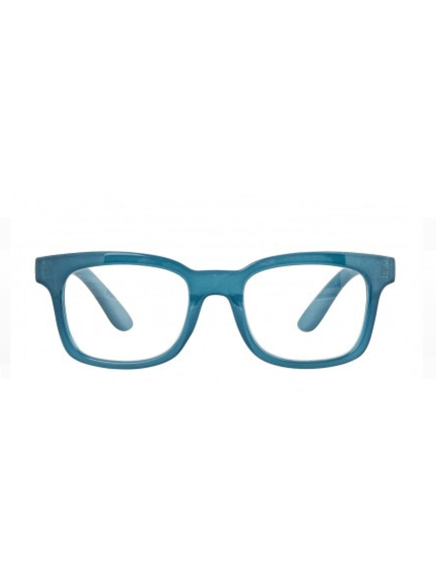 MILLE READING GLASSES - MILKY TURQUOISE