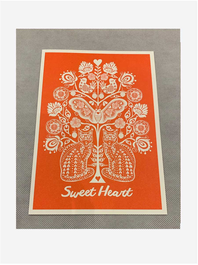 LARGE CARD - SWEETHEART