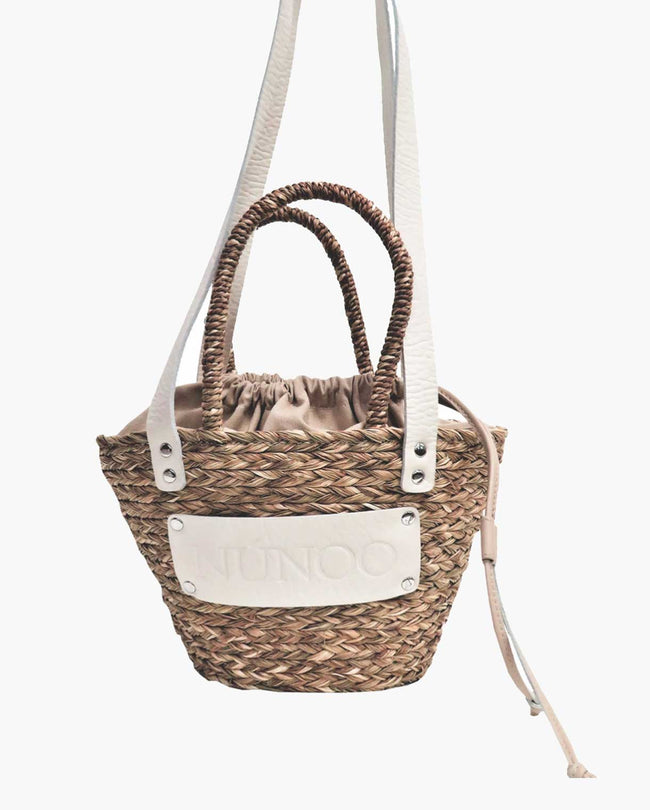 SMALL BEACH BAG - NATURE