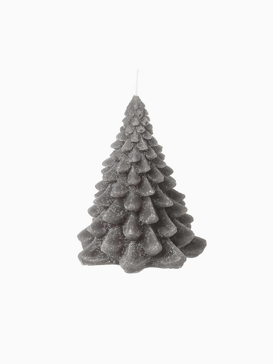 CHRISTMAS TREE CANDLE 10x21.5 - GRAPE LEAF