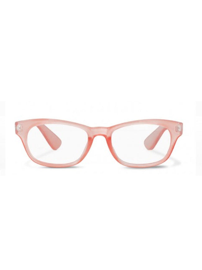 IDUN READING GLASSES - OLD PINK METALLIC