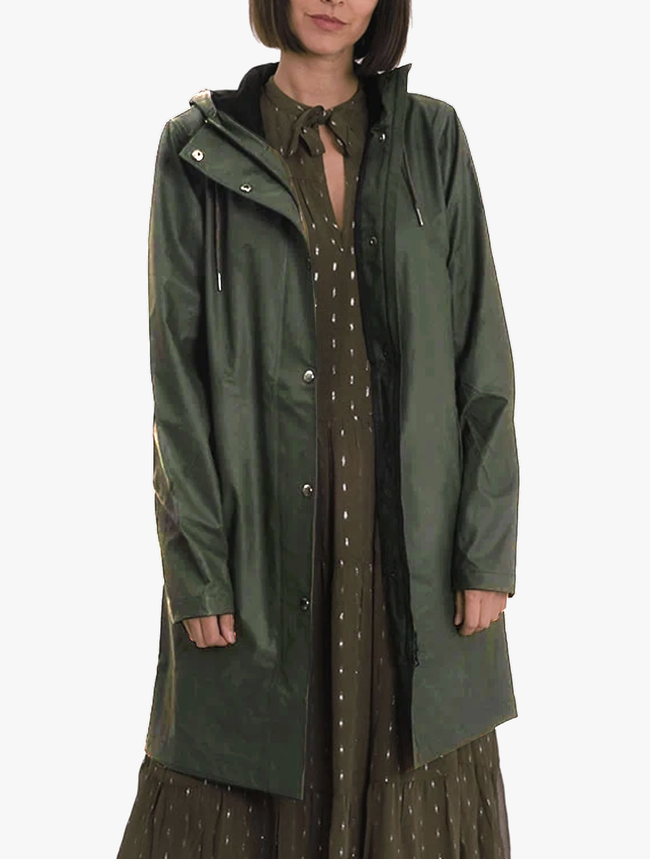STALA RAINCOAT - ROSIN