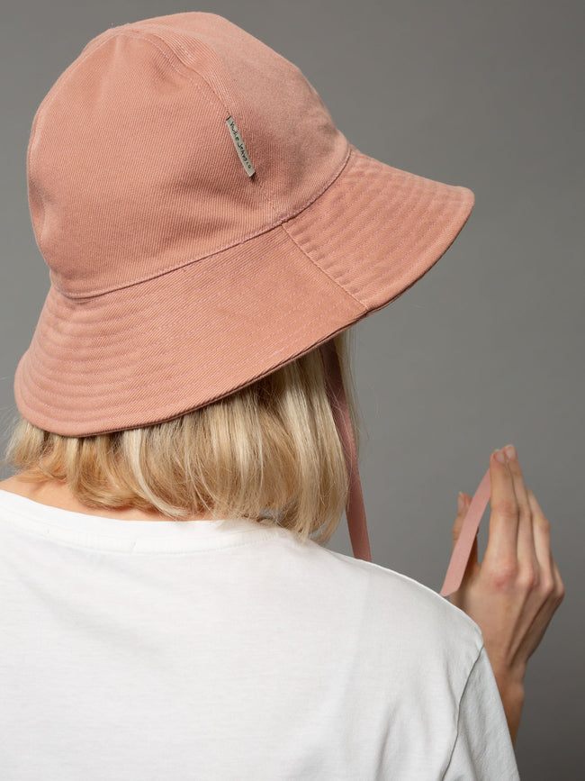 SOLVEIG BUCKET HAT - APRICOT