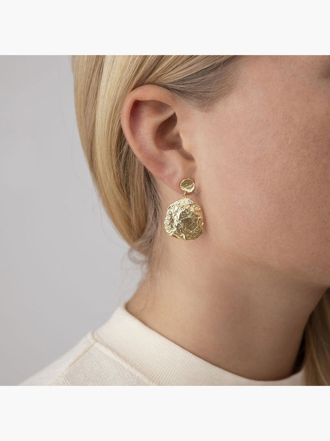 THE SHELLA EARRINGS - GOLD