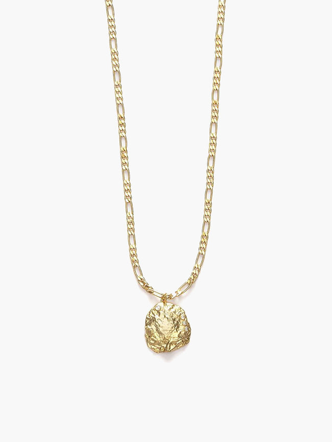 THE SHELLA NECKLACE - GOLD