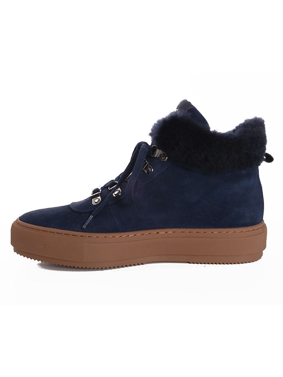 ALMA SUEDE BOOT - MIDNIGHT BLUE
