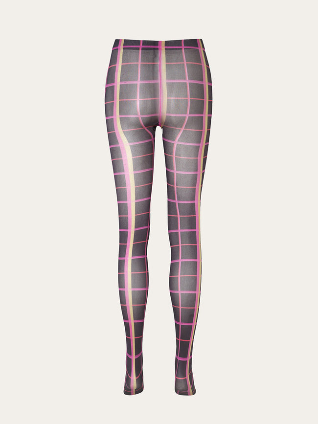 VERO TIGHTS - PLAID