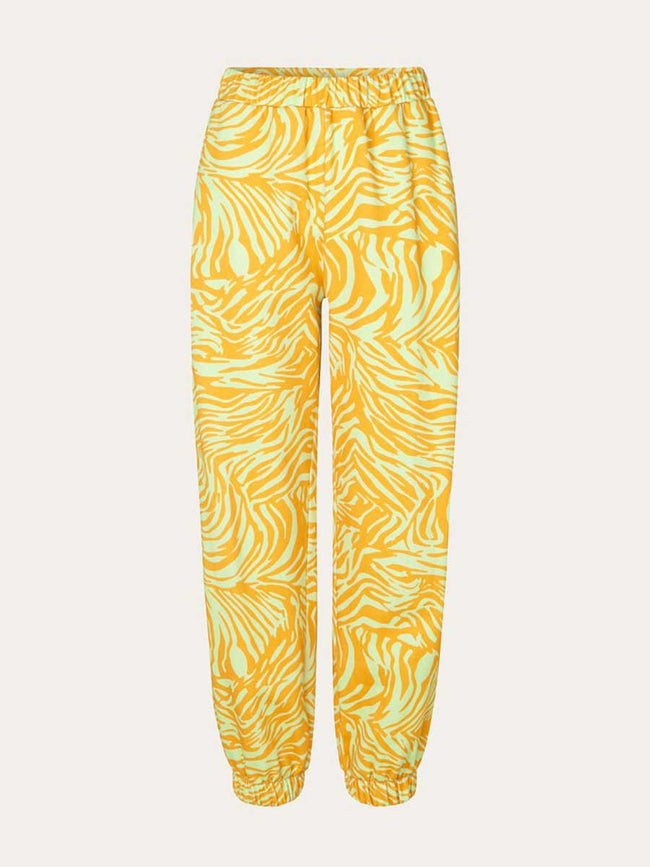 ZAZA PANTS - ZEBRA ORANGE
