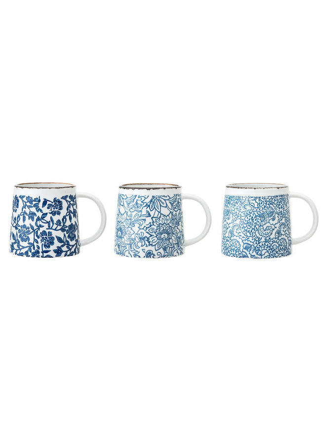 MOLLY MUG SET OF 3 - BLUE