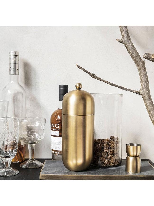 ALIR BRASS COCKTAIL SHAKER