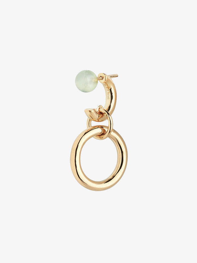 ANITA GREEN EARRING - GOLD