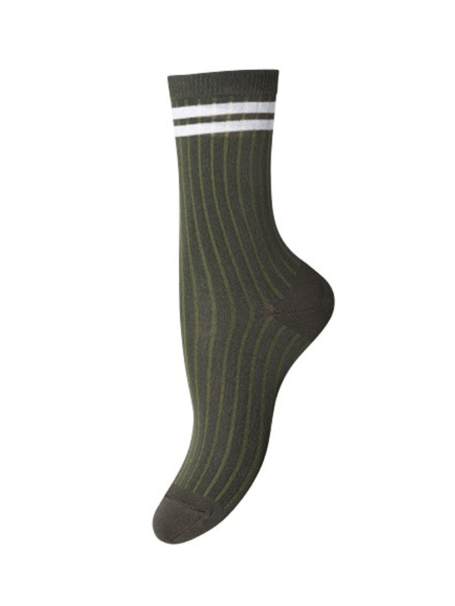 MARA ANKLE SOCKS - ARMY