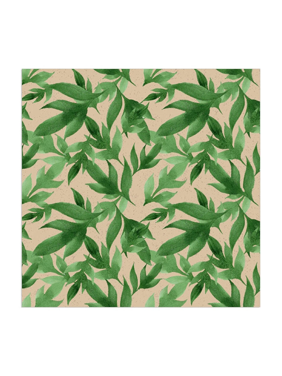 GREEN LEAF ORGANIC NAPKINS