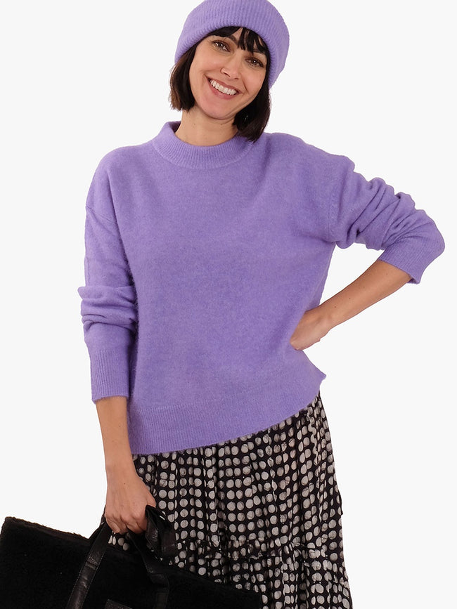 ANOUR JUMPER - PURPLE