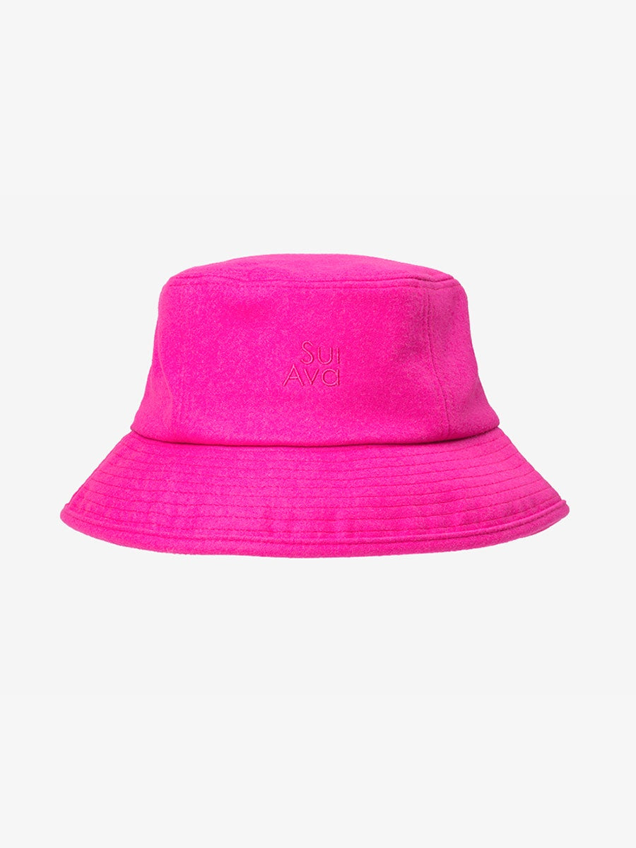 POSH BUCKET HAT - HOT PINK