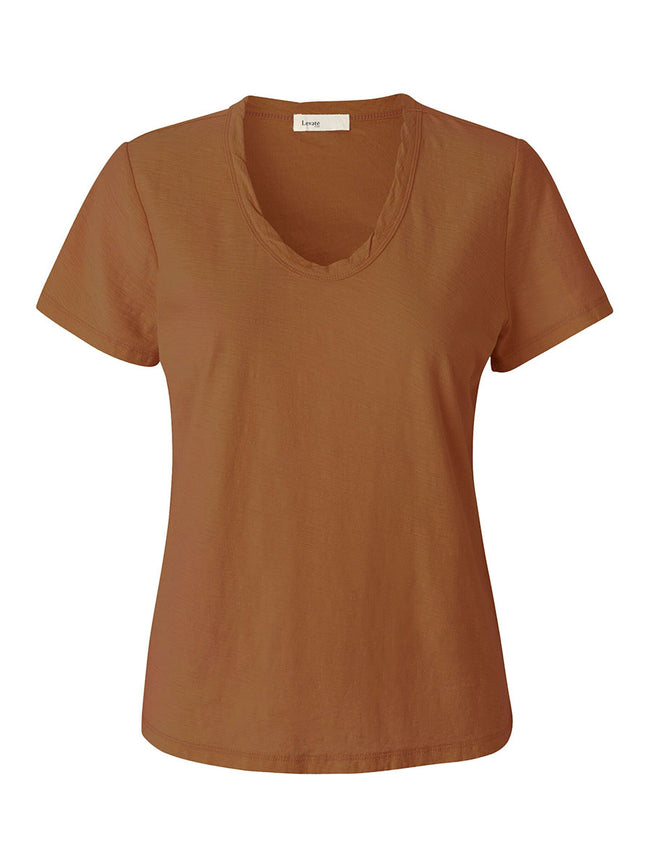 ANY2 T-SHIRT - SQUIRREL BROWN