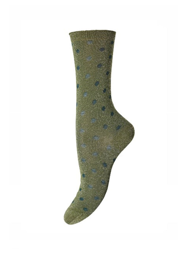 DONNA ANKLE SOCKS - GREEN