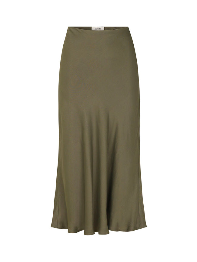 ISA SOLID 3 SKIRT - SAGE GREEN