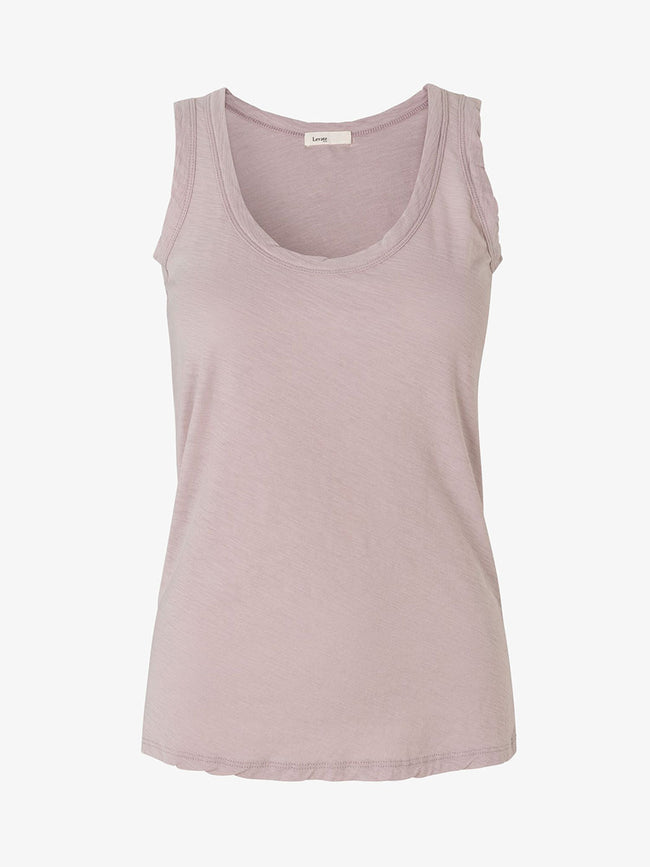 ANY7 SCOOP NECK VEST - CLOUD GREY