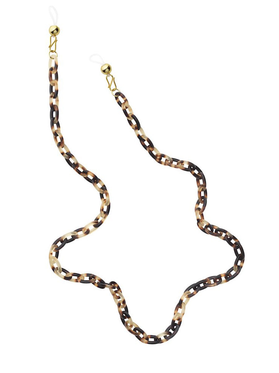 YASABEL FRAME CHAIN - HAVANA BROWN