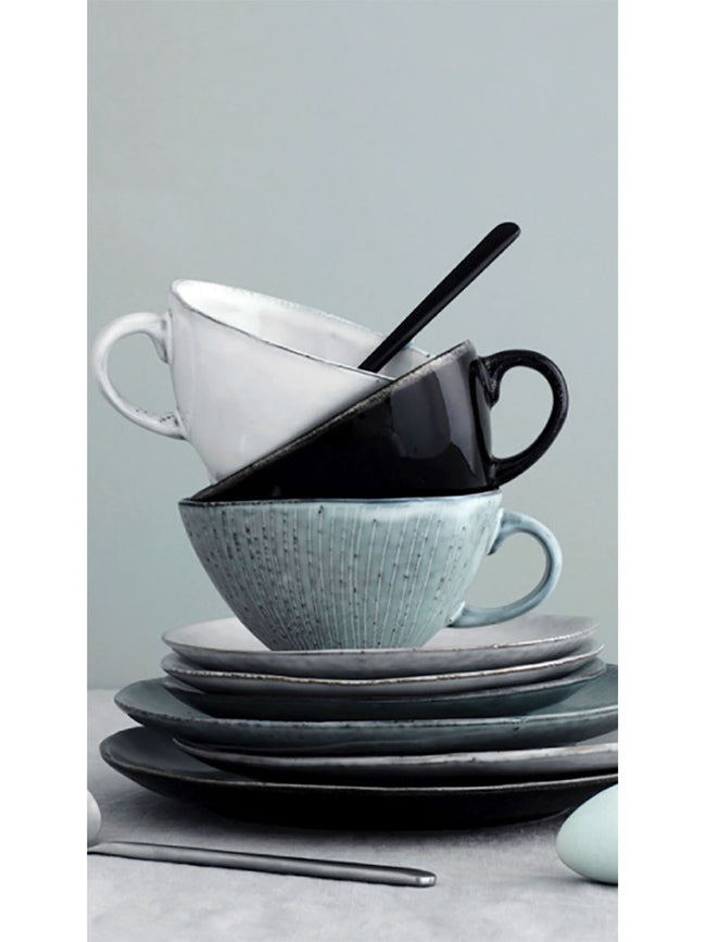 CUP W/SAUCER - NORDIC SAND