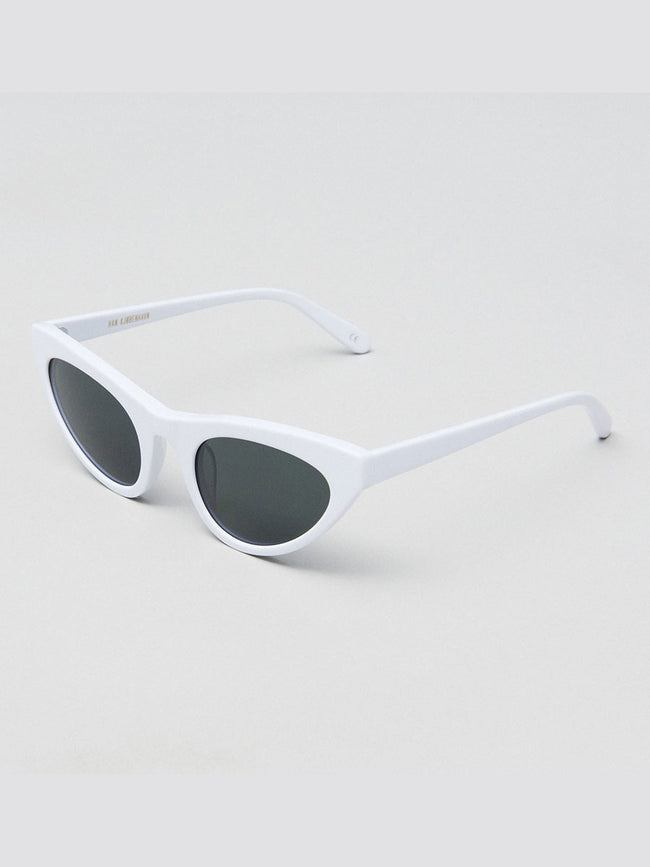 RACE WHITE SUNGLASSES