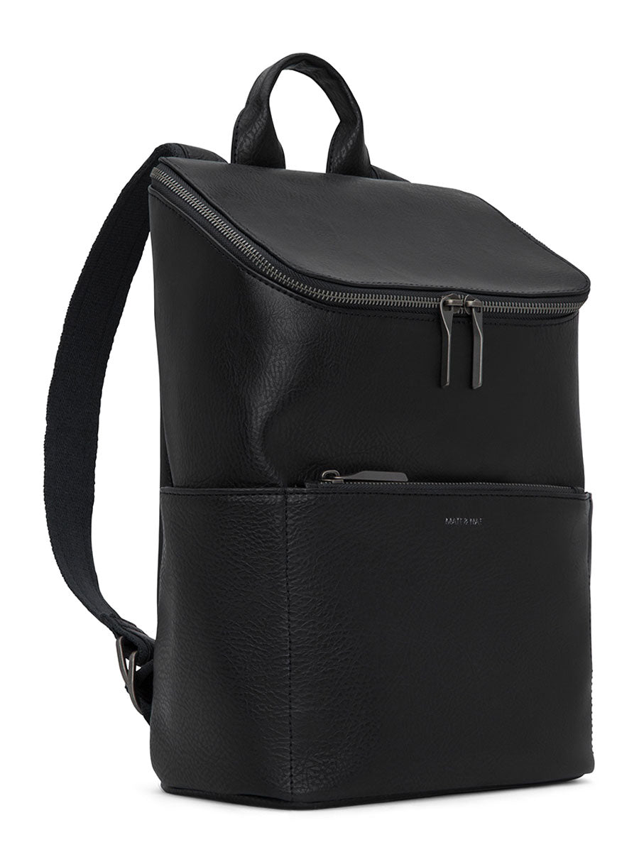 BRAVE VEGAN BACKPACK - BLACK