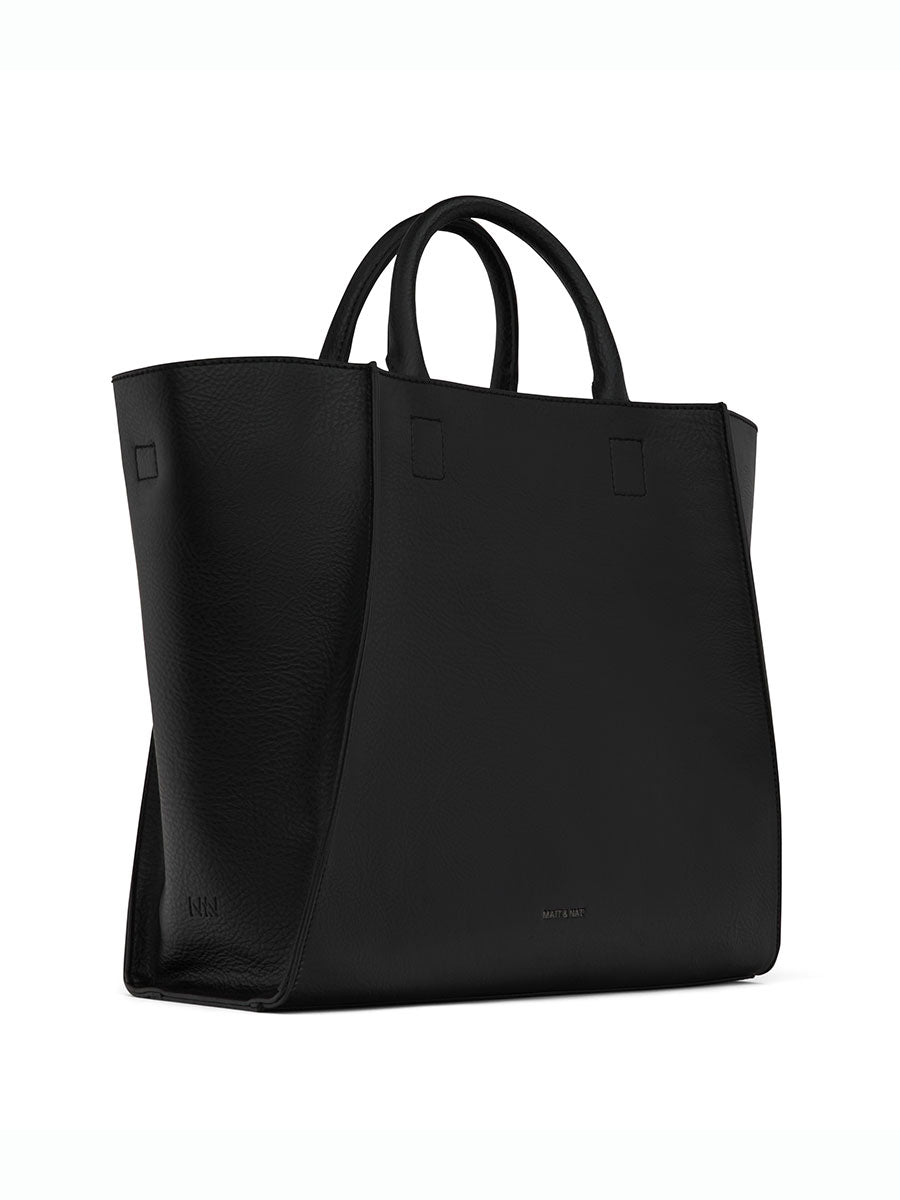 LOYAL VEGAN TOTE BAG - BLACK
