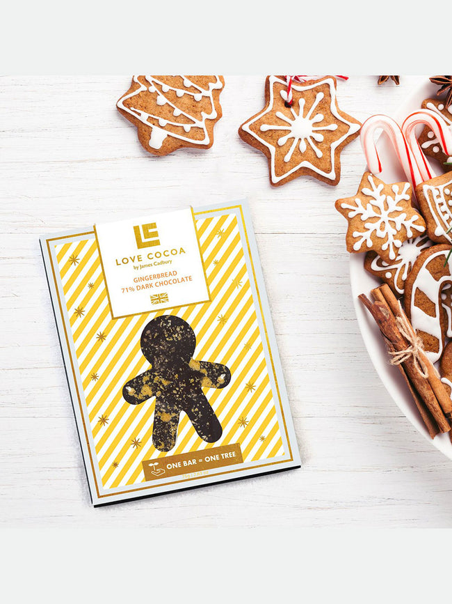 GINGERBREAD XMAS CHOCOLATE BAR